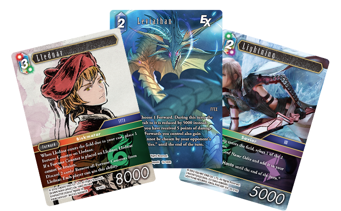 Opus XIII Featured cards