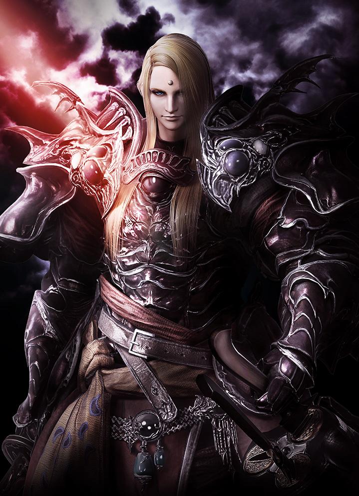 A portrait of Zenos_yae_Galvus from FINAL FANTASY 14
