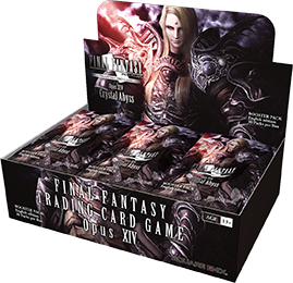 The Opus XIV Booster Box with 36 Booster Packs inside