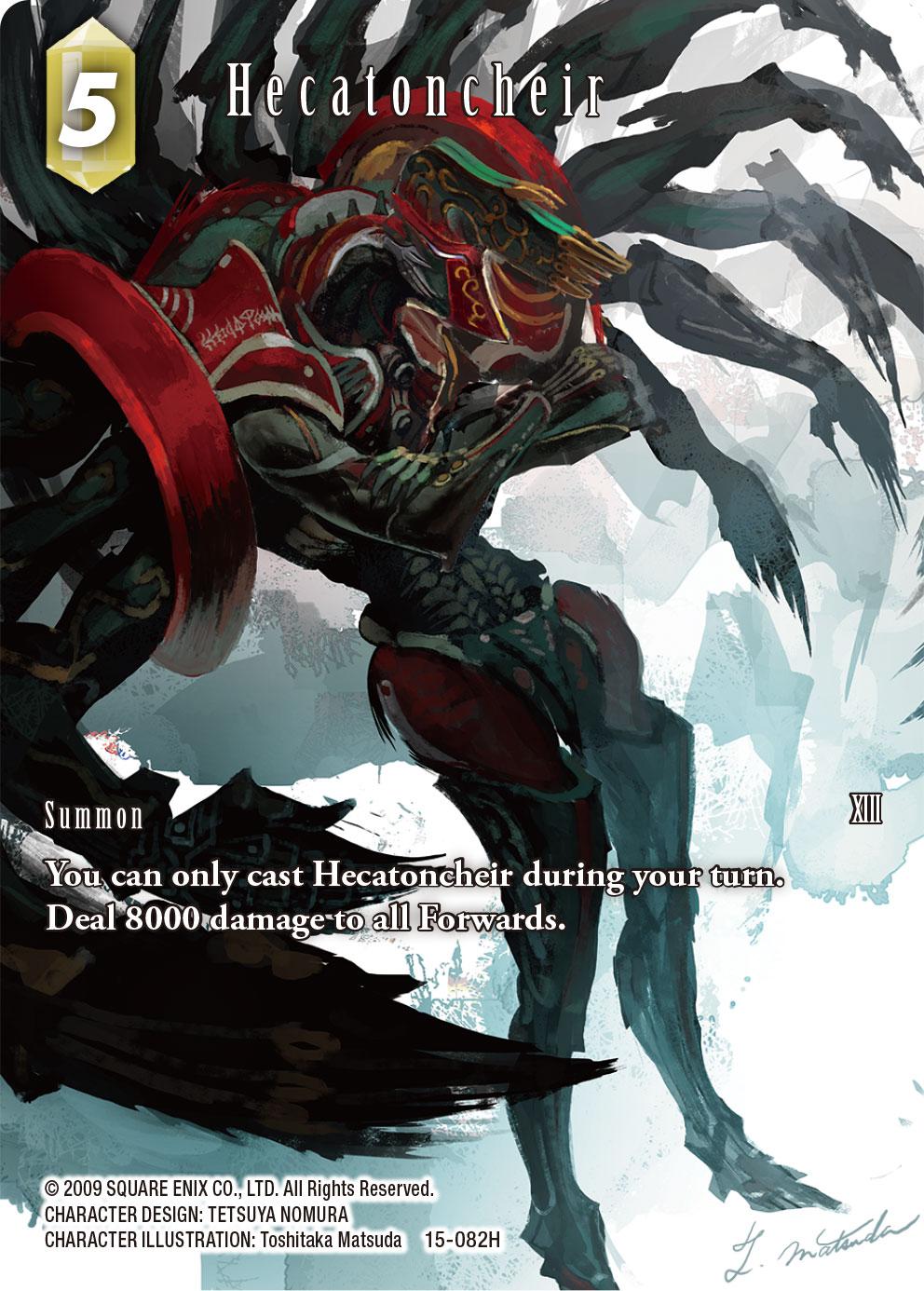 Hecatoncheir 15-082H Full Art