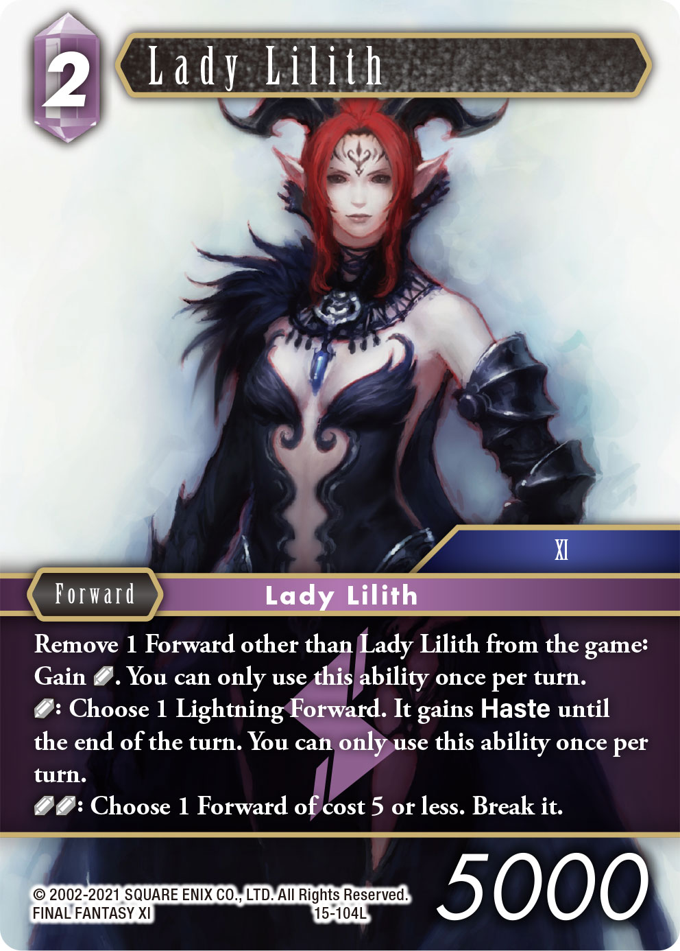 Lady Lilith 15-104L
