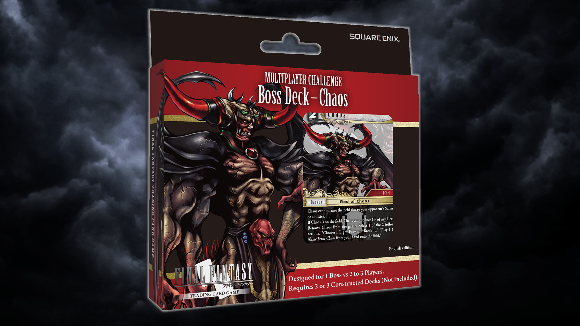 New Product Info: Boss Deck - Chaos